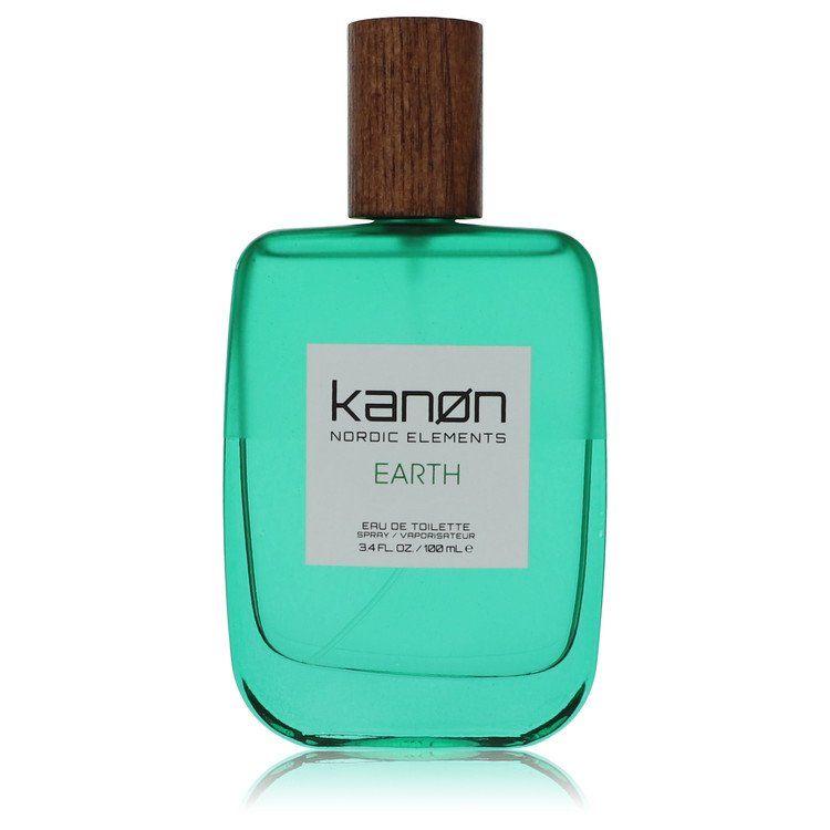 Kanon nordic elements earth by Kanon 3.4 oz Eau De Toilette Spray (unboxed) for Men