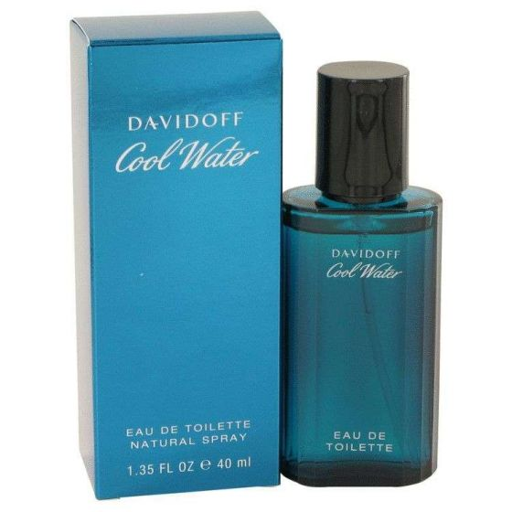 Cool water by Davidoff 1.35 oz Eau De Toilette Spray for Men