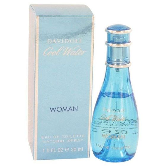 Cool water by Davidoff 1 oz Eau De Toilette Spray for Women
