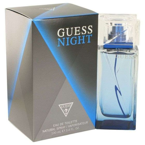 Guess night by Guess 3.4 oz Eau De Toilette Spray for Men