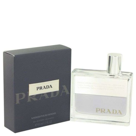 Prada amber by Prada 1.7 oz Eau De Toilette Spray for Men