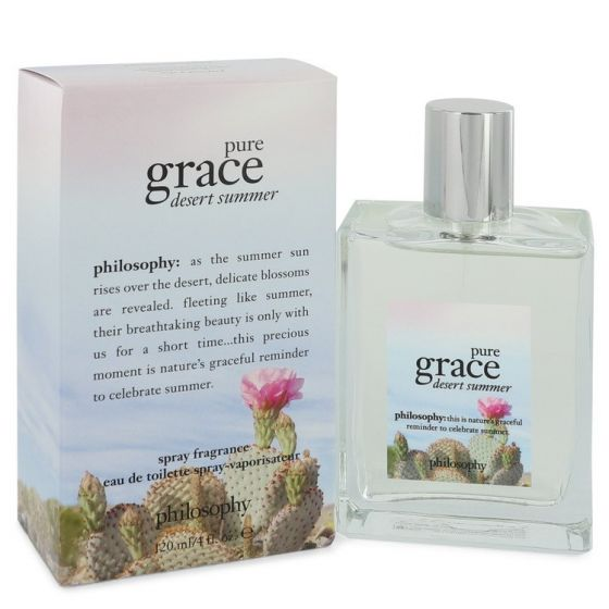 Pure grace desert summer by Philosophy 4 oz Eau De Toilette Spray for Women